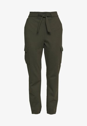 ONLPOPTRASH  - Cargo trousers - forest night