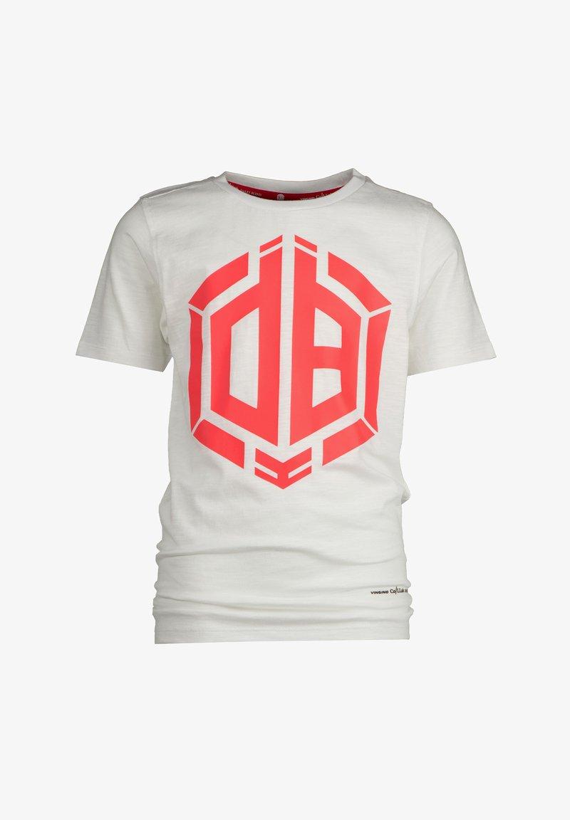 Vingino - HALLIS - Print T-shirt - real white