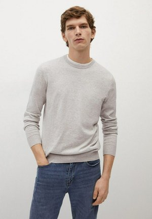 TEN - Sweatshirt - gris claro vigoré