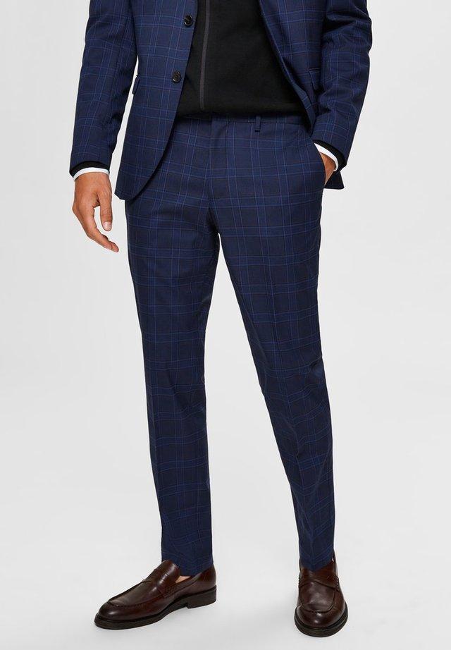 Suit trousers - navy blazer