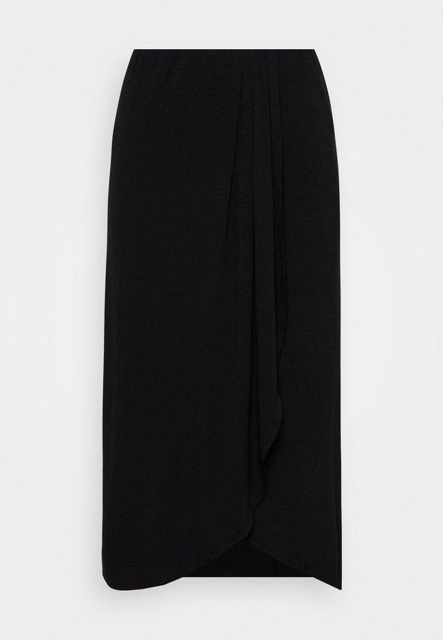 PCNEORA SKIRT - Falda de tubo - black