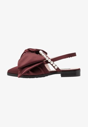 CHELSEA - Slipper - burgundy