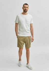 Selected Homme - T-shirt - bas - white - 1