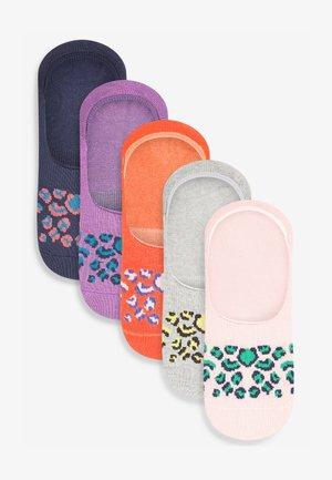 5 PACK - Trainer socks - multi coloured