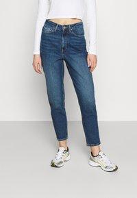 Even&Odd - Straight leg jeans - blue denim - 0