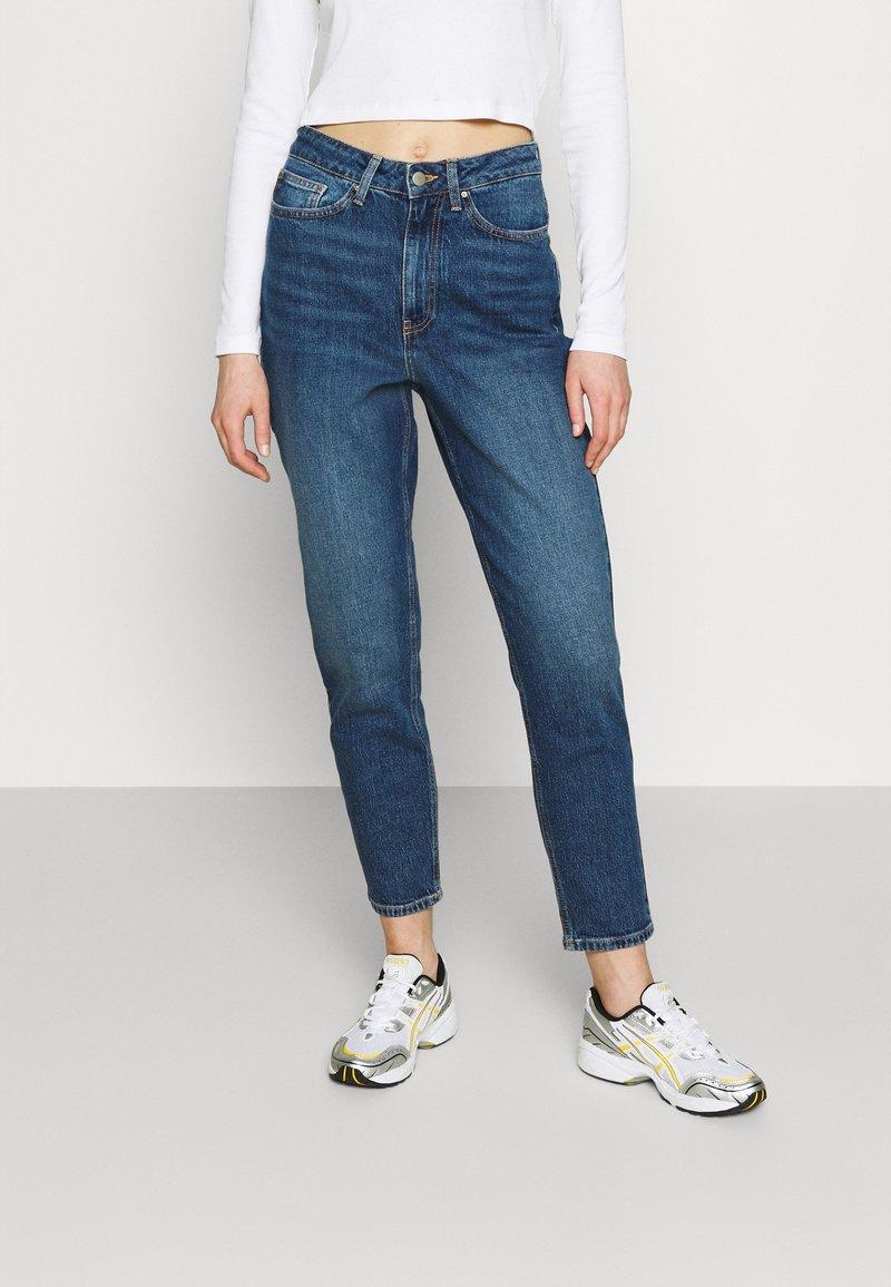 Even&Odd - Straight leg jeans - blue denim