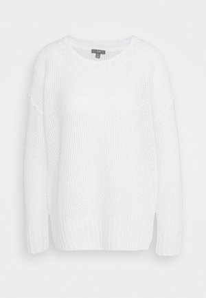 CREWNECK BEACH - Strickpullover - white