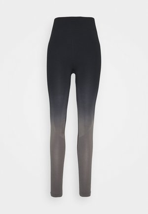 SEAMLESS - Tights - black/grey