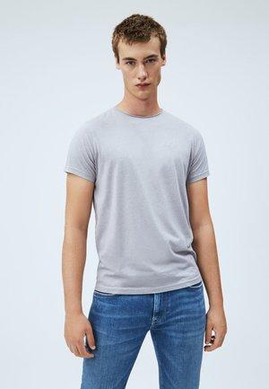 PAUL - T-shirt basic - gris marl