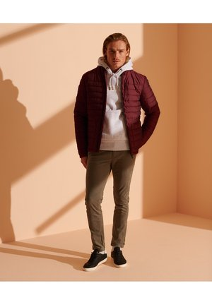 Winter jacket - cabernet