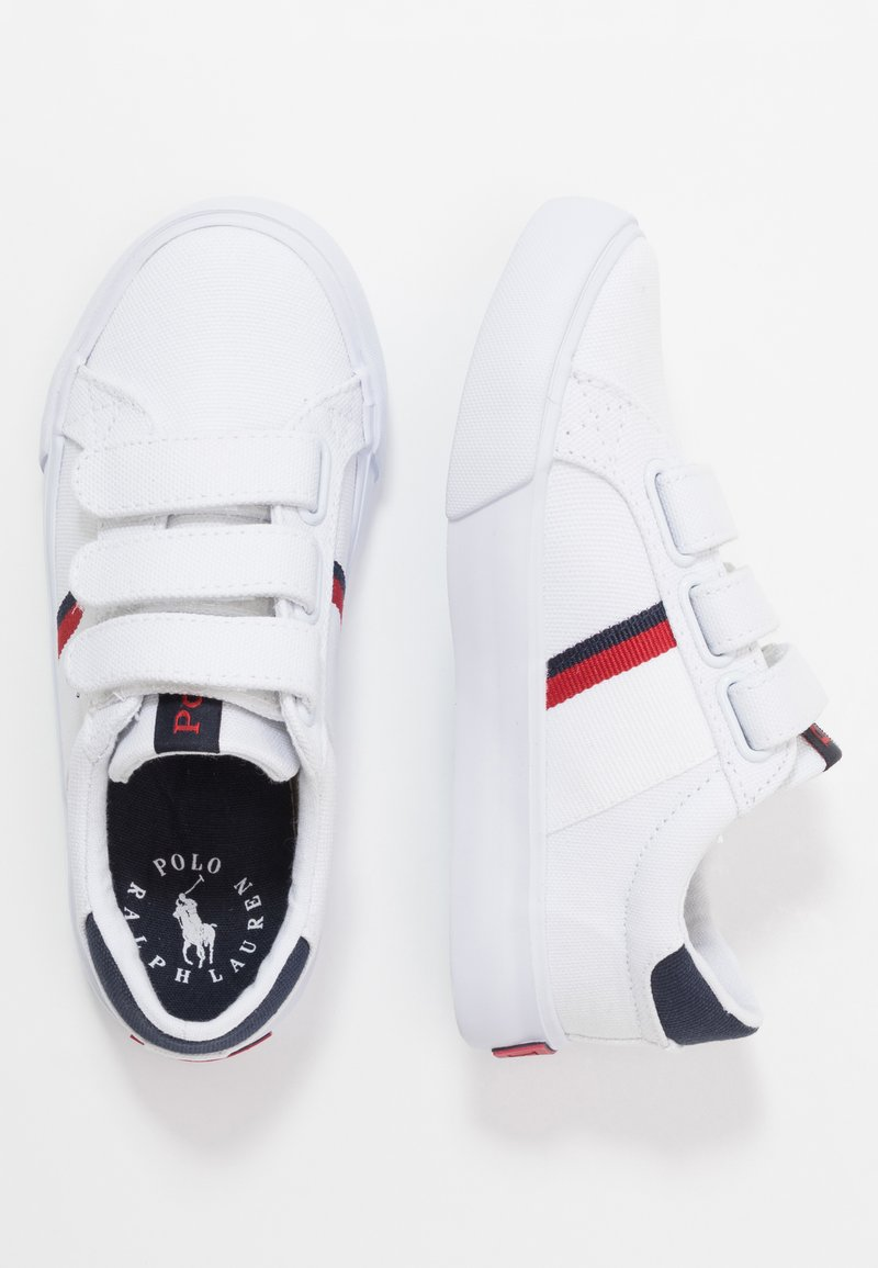 Polo Ralph Lauren - GAFFNEY - Trainers - white/red/navy