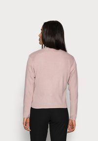 Missguided Petite - CROP CARDIGAN - Cardigan - pink - 2