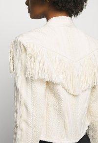 Iro - TEVA JACKET - Summer jacket - off-white/beige - 6