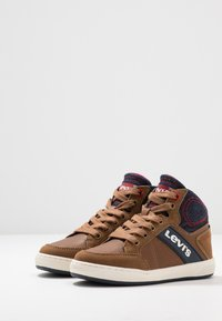 Levi's® - NEW MADISON MID - High-top trainers - cognac - 3
