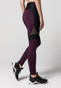 Daquïni - LUX  - Leggings - Trousers - dark red - 2