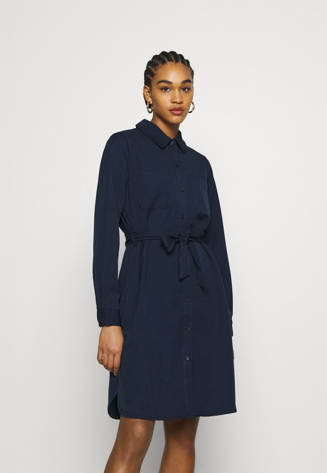 FILLANA - Shirt dress - martime blue