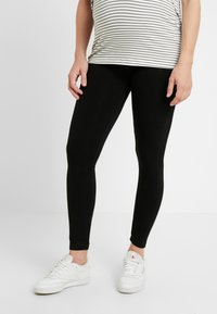 GAP Maternity - ESSENTIAL - Leggings - Trousers - true black - 0
