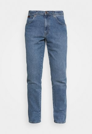 TEXAS TAPER - Straight leg jeans - blue stones