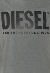 Diesel - T-DIEGO-LOGO - Print T-shirt - grey - 5