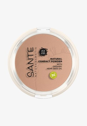 NATURAL COMPACT POWDER - Puder - 02 neutral beige