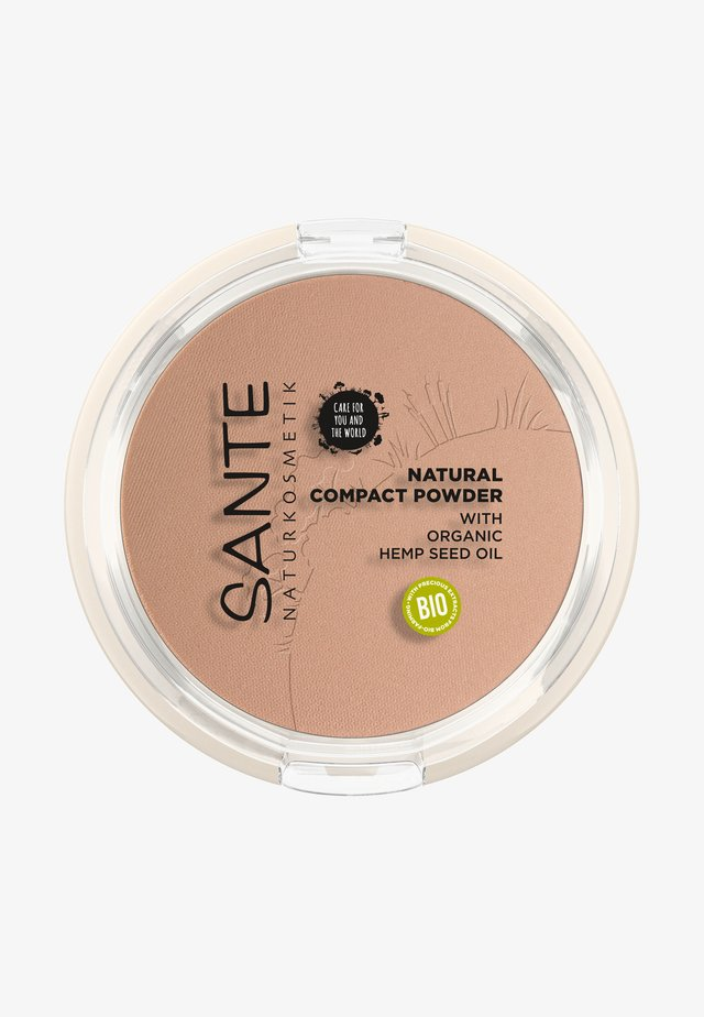 NATURAL COMPACT POWDER - Pudder - 02 neutral beige