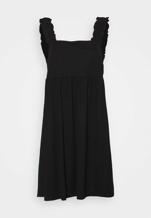 VISAFINA FRILL DRESS - Vapaa-ajan mekko - black