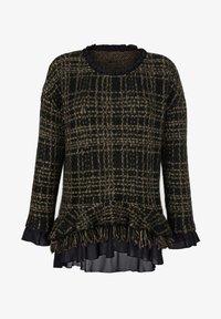 Alba Moda - Sweatshirt - schwarz,camel - 6