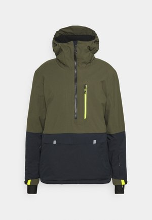 SKI WNDBRKR - Ski jacket - dunkeloliv