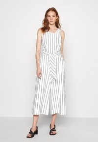 Banana Republic - FRONT STRIPE - Jumpsuit - black - 0