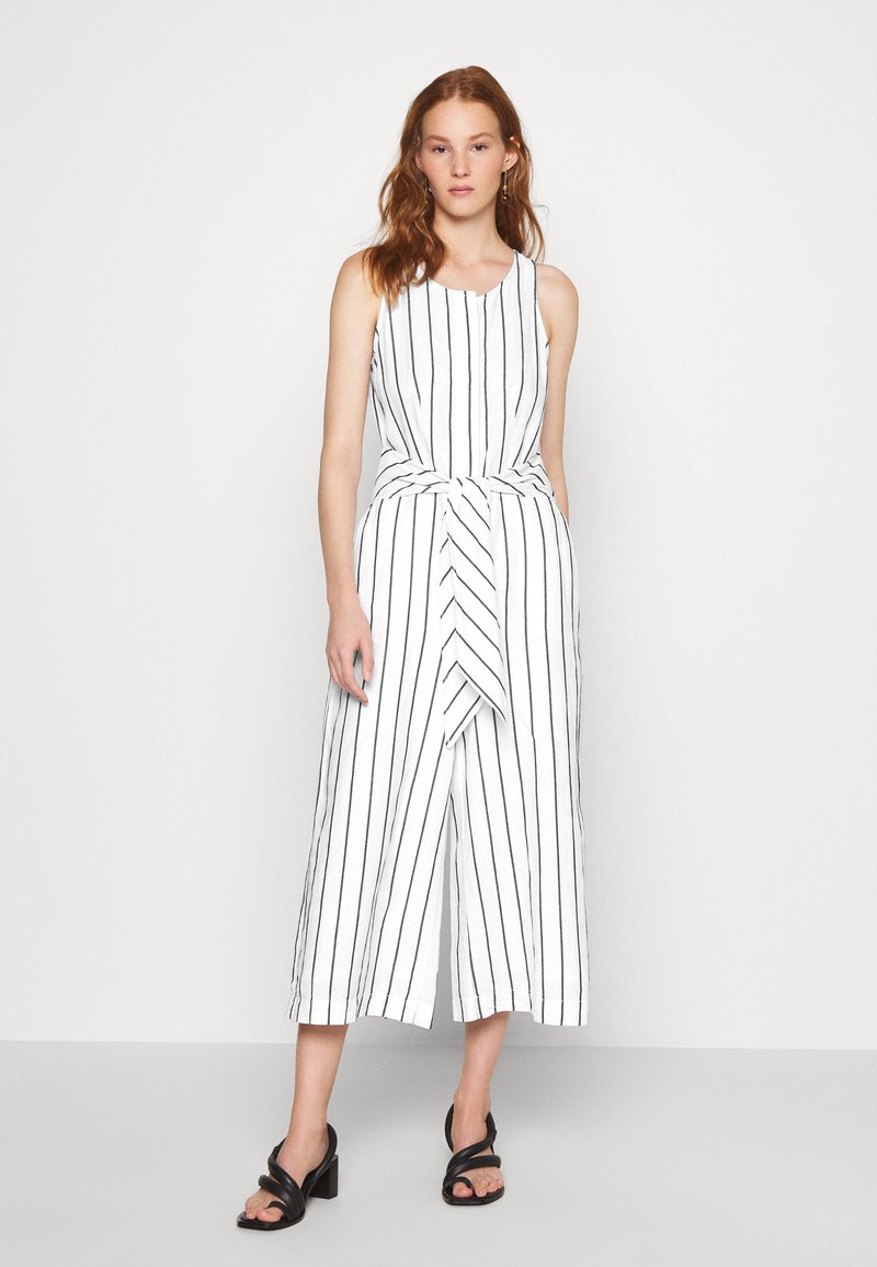 Banana Republic - FRONT STRIPE - Jumpsuit - black