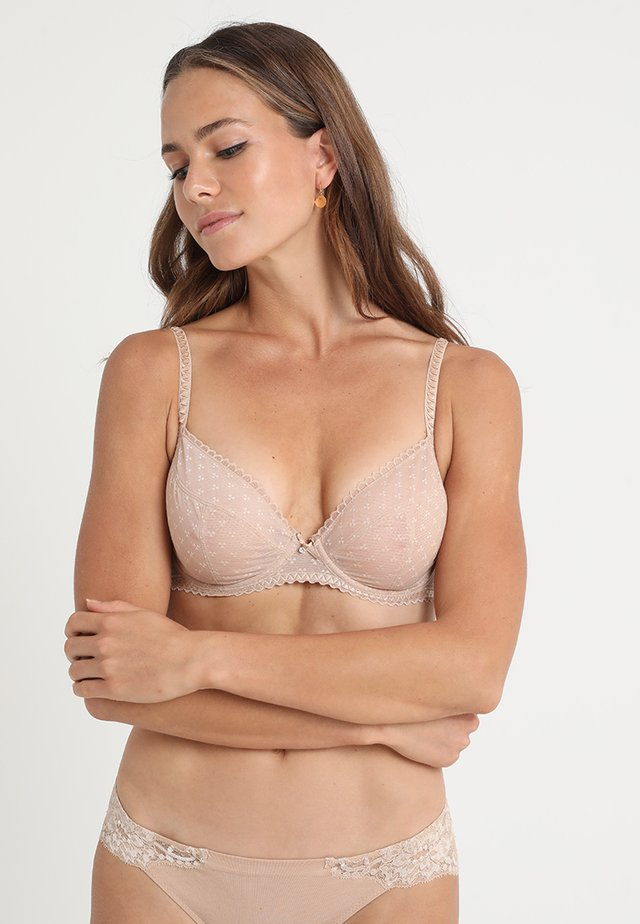 COURCELLES - Underwired bra - nude