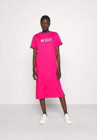 HUGO - NAILY - Maxi dress - bright pink - 0