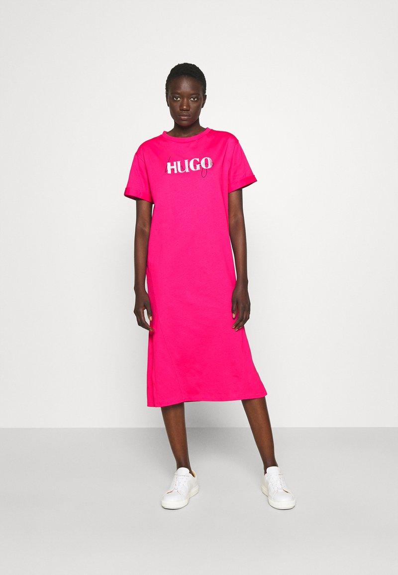 HUGO - NAILY - Maxi dress - bright pink