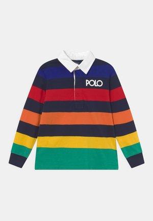 RUGBY - Poloshirt - rainbow/navy