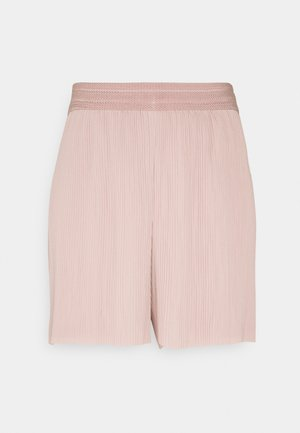 ONLMARIN PLISSE - Shorts - adobe rose