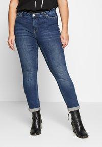 JUNAROSE - by VERO MODA - JRFIVE DELINA - Jeans Skinny Fit - medium blue denim - 0