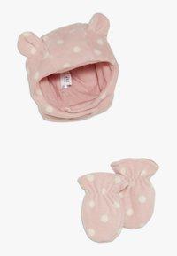 GAP - HAT MITT BABY SET - Čepice - pink standard - 0