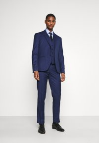 Isaac Dewhirst - CHECK SUIT - Costume - blue - 1