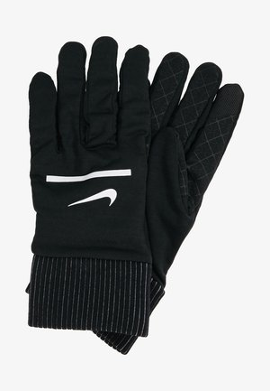 HEATHERED SPHERE RUNNING GLOVES - Guantes - black/silver