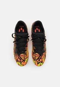 adidas Performance - NEMEZIZ MESSI .4 FXG UNISEX - Moulded stud football boots - solar red/solar yellow/core black - 3