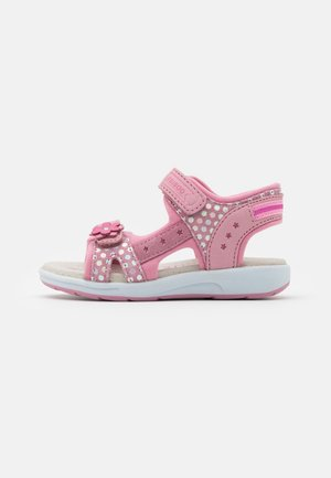 LEATHER - Riemensandalette - light pink
