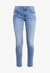 TROUSER - Slim fit jeans - light authentic denim mid blue