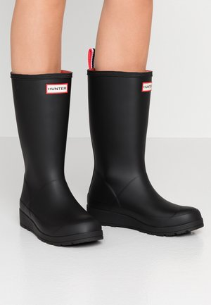 ORIGINAL INSULATED PLAY TALL - Wellies - black