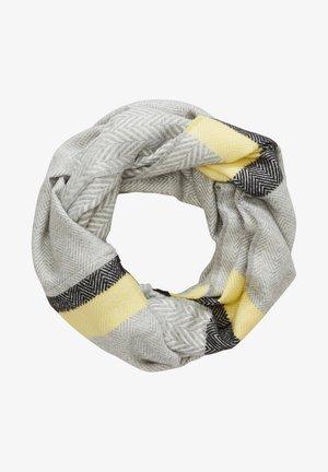 Snood - grey stripes