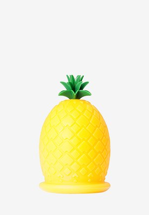 PINEAPPLE SILICONE MASSAGE TOOL - Accessoires corps & bain - yelow