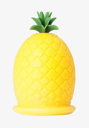 PINEAPPLE SILICONE MASSAGE TOOL - Accessori corpo e bagno - yelow