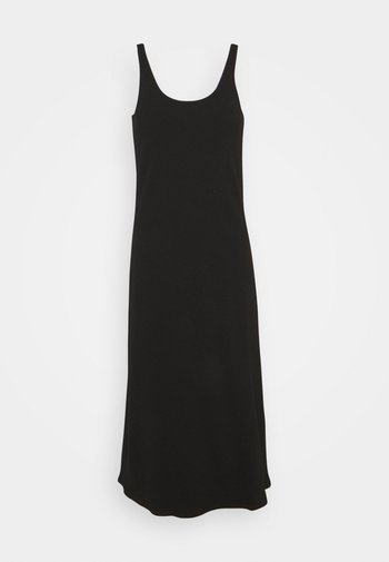 SLFANNA STRAP DRESS S PETITE - Day dress - black