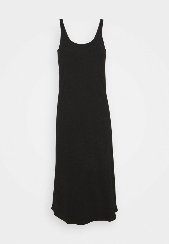 SLFANNA STRAP DRESS S PETITE - Korte jurk - black
