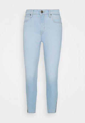 SCARLETT HIGH ZIP - Jeans Skinny Fit - vintage light
