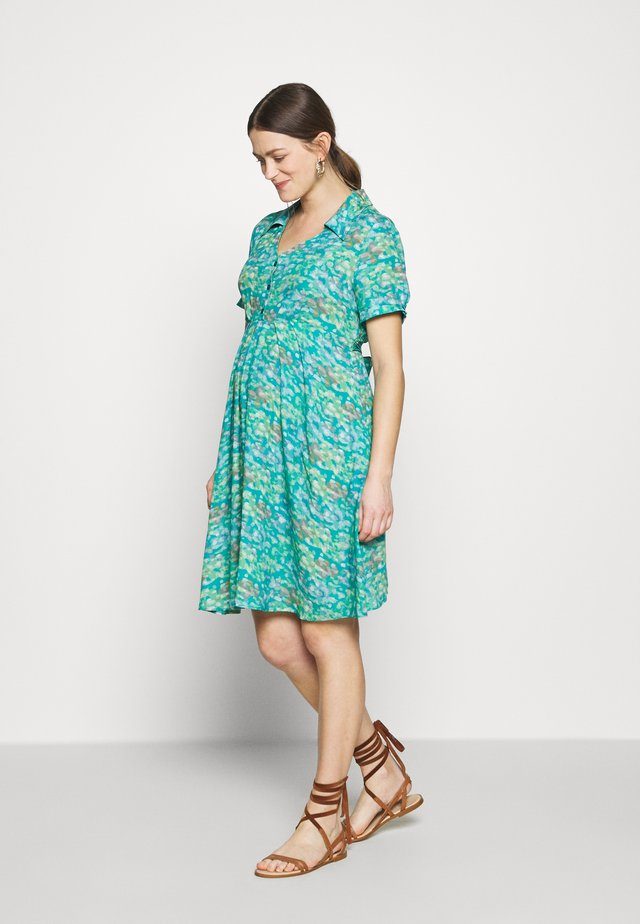 MARA - Day dress - brush green